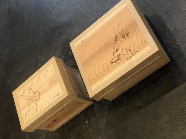 彫刻家・瀬戸優×伝統工芸特製コラボ茶箱